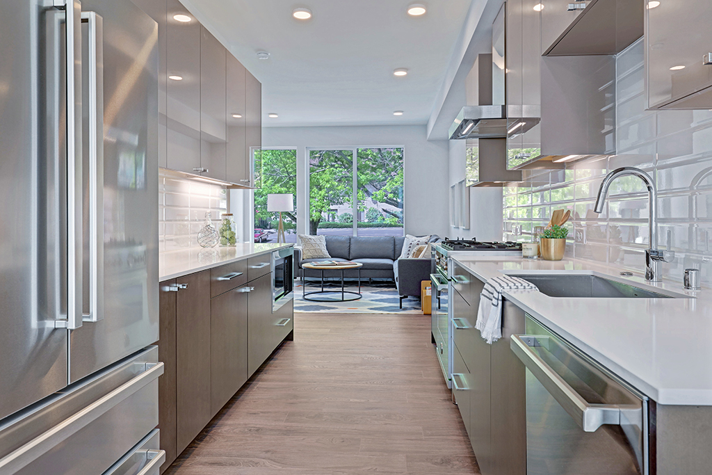 interior photo kitchen and living room