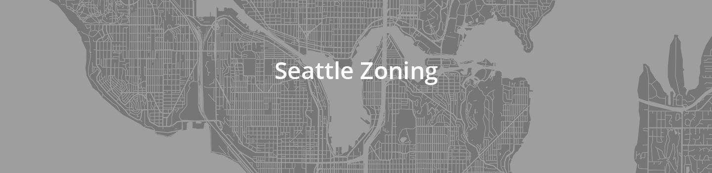 map of Seattle zoning
