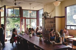 photo of inside of coffee shop