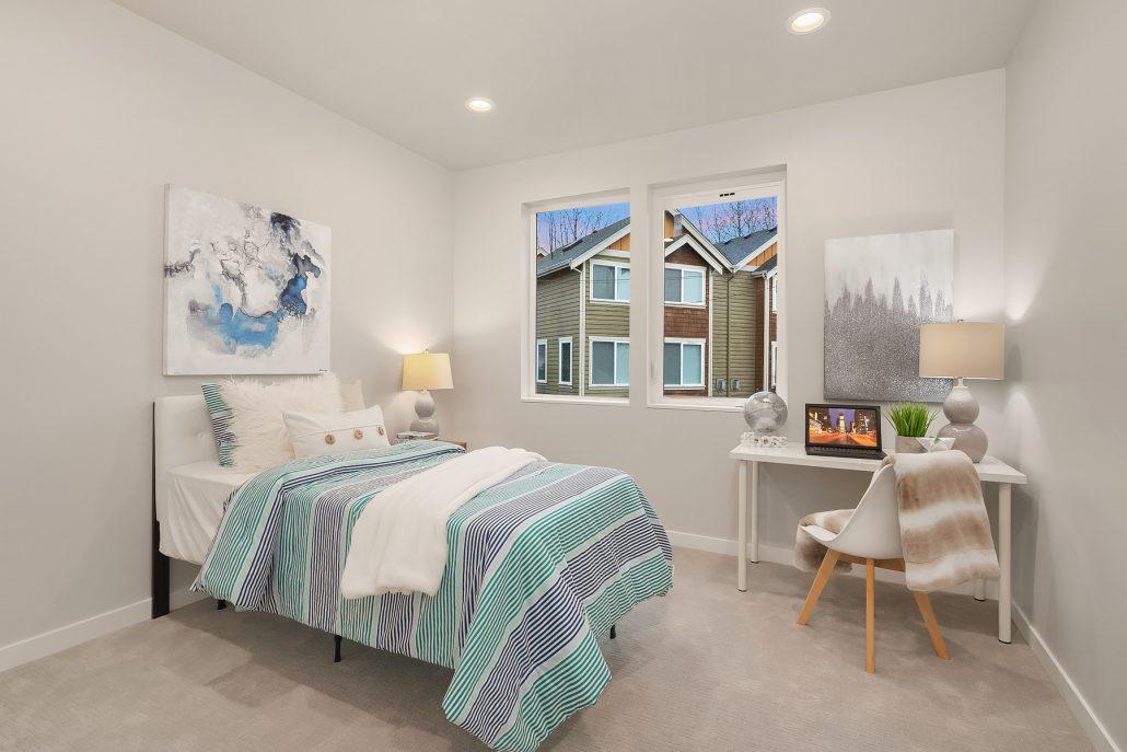 interior photo of bedroom