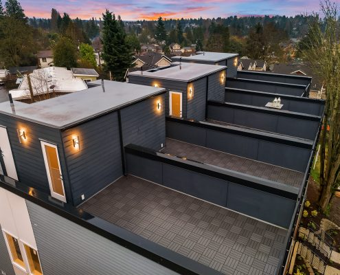 aerial photo roof deck