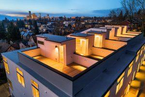 exterior photo roof deck