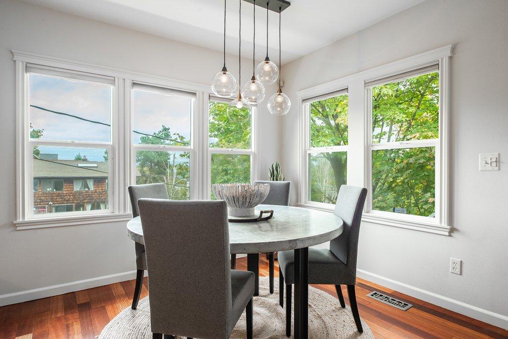 interior photo of dining room