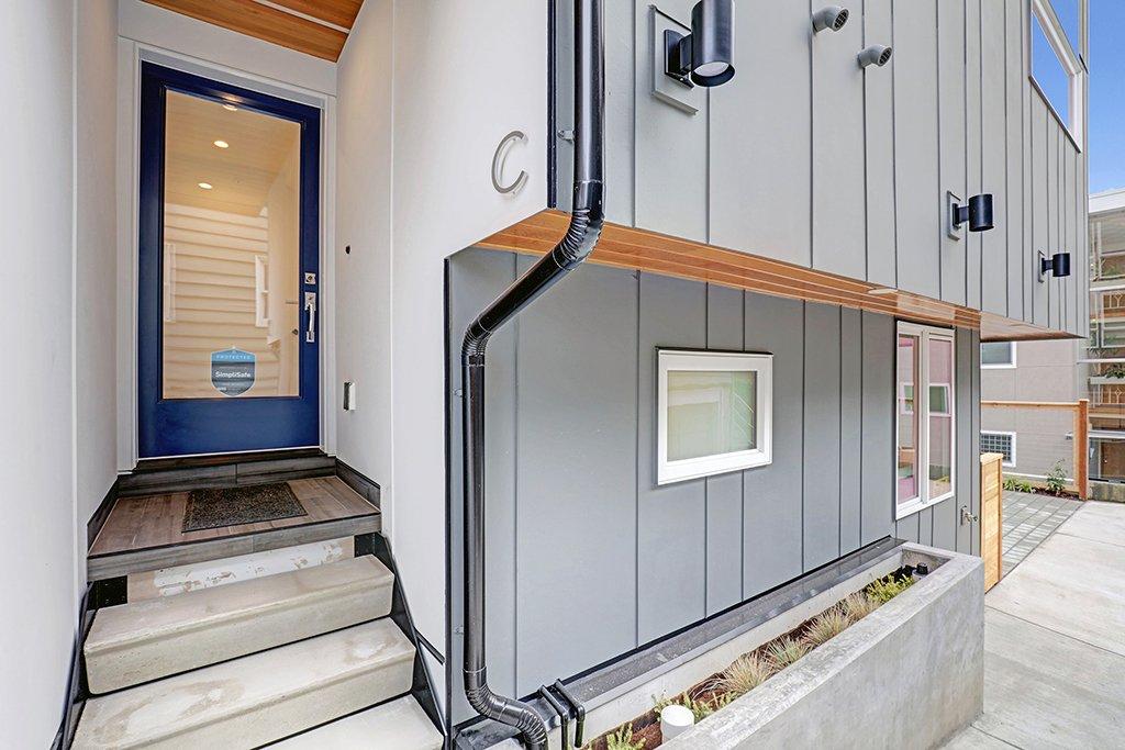 Exterior photo of door