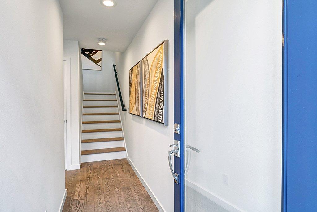 Interior photo of stairs