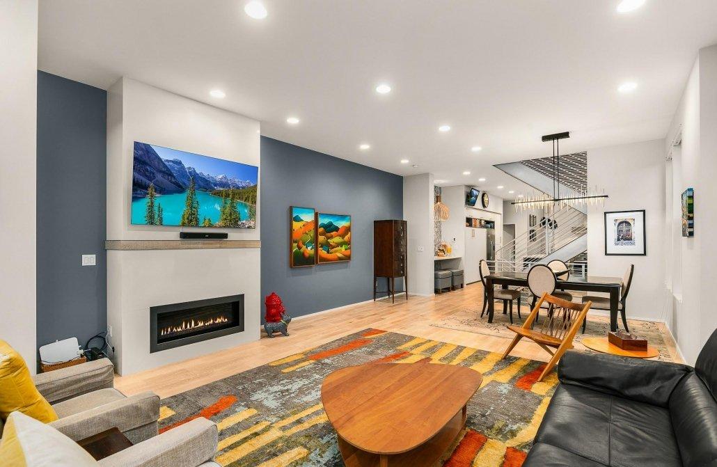 interior photo living kitchen