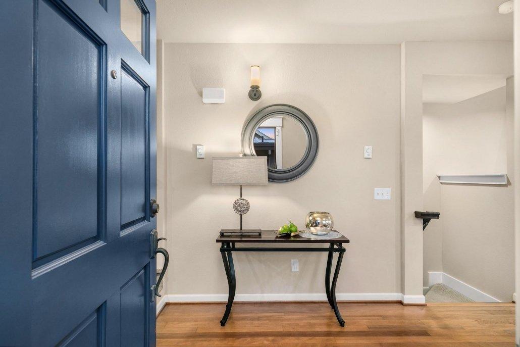 interior photo door