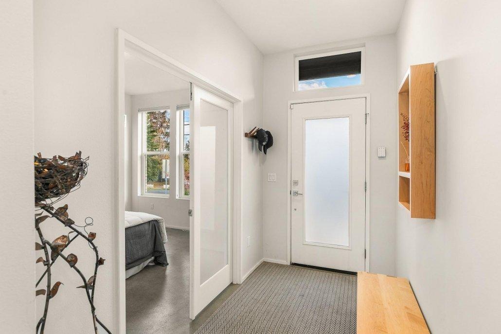 interior photo front door