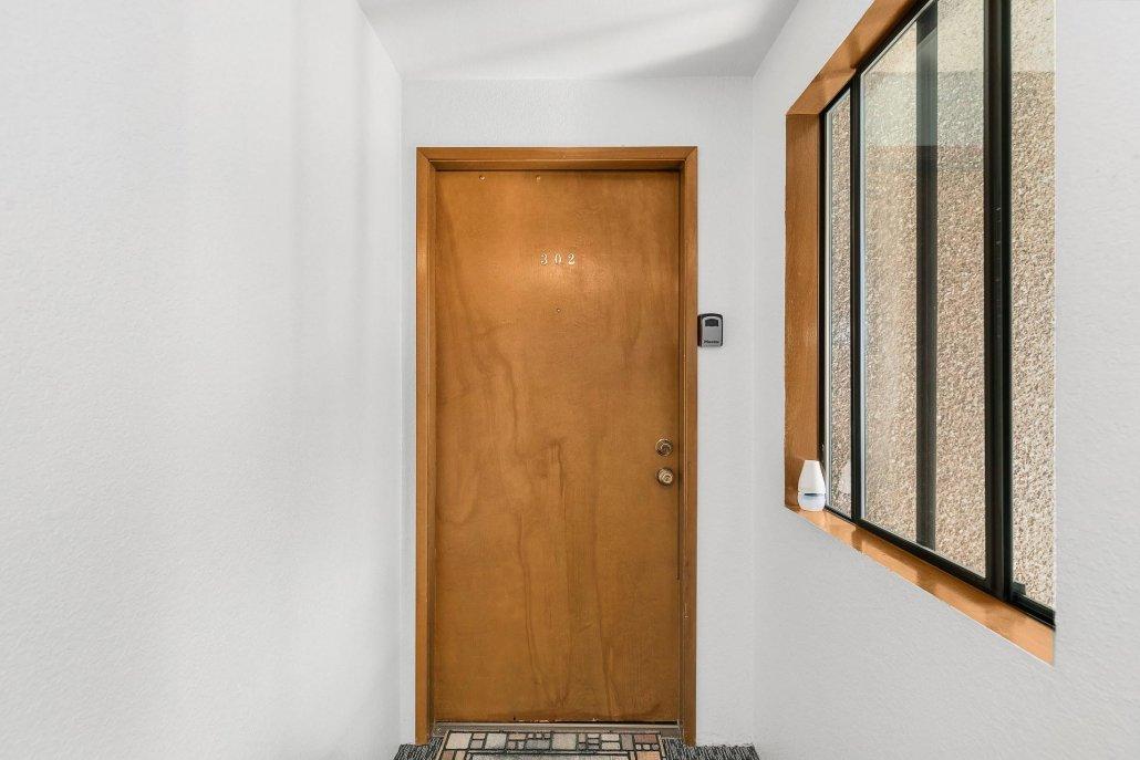 interior photo of door