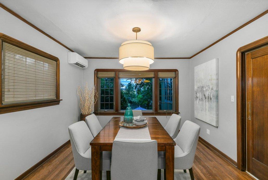 interior photo dining room